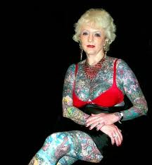 Самая татуированная бабушка