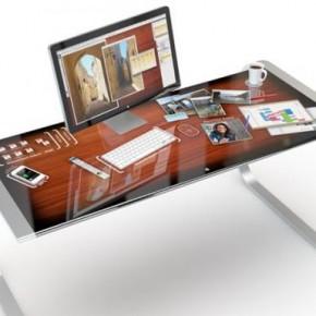 Apple iDesk – концептуальный рабочий стол
