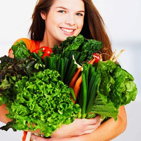 Весенние продукты для похудения