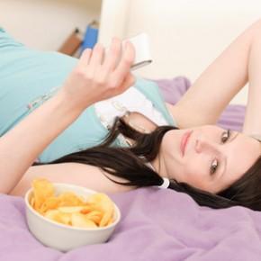 Поздние ужины — причина лишнего веса