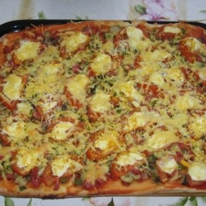Пицца из дрожжевого теста – классический рецепт