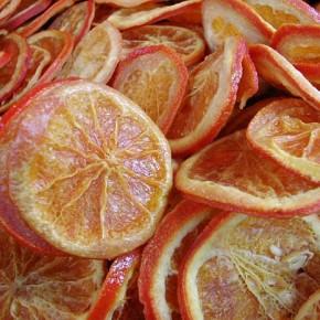 Как засушить апельсин?