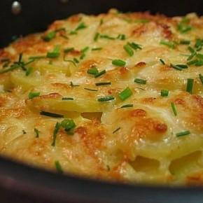 Картофель «Дофин» запеченный под сыром