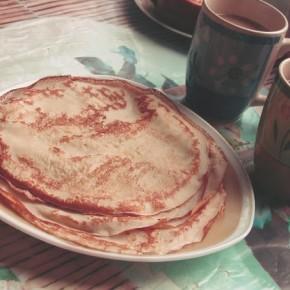 Налистники на завтрак