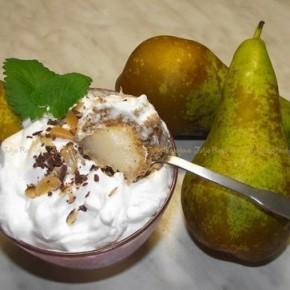 Орехово-грушевый десерт