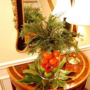 Рождественский декор интерьера всего за 15 минут