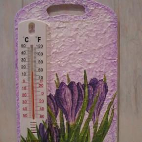 Как изготовить декоративные термометры?
