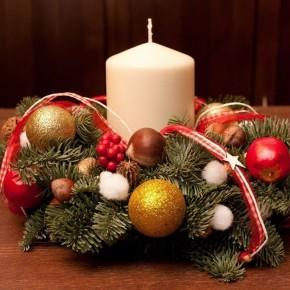 Мастер-класс: рождественский венок своими руками