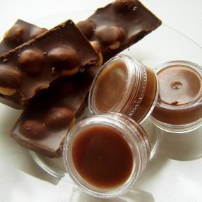 Как сделать мятно-шоколадный бальзам для губ