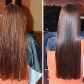Ламинирование волос на дому