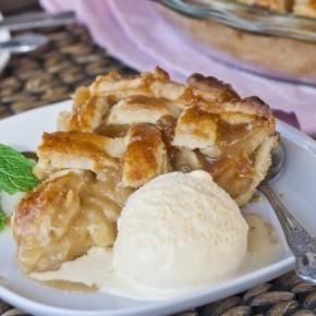 Вкуснейший карамельный грушевый пирог