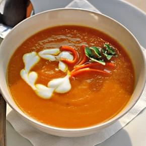 Готовим малышам: оранжевый витаминный суп