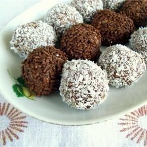 Десерт «Шоколадные шарики»