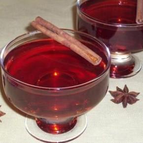 Желе из вишневого сока