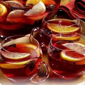 Как сделать новогодний чайный пунш