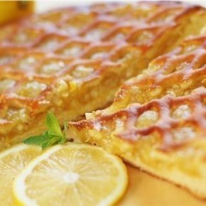 Лимонный киш