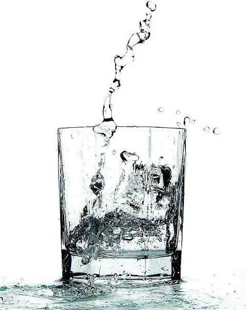 Выпить воды утром