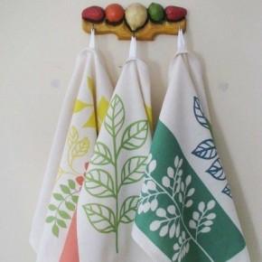 Чем отбелить кухонные полотенца?