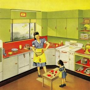 7 быстрых способов занять ребенка на кухне