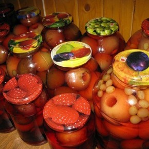 Как хранить компоты и варенья