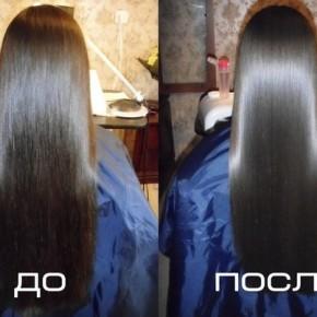 Маска для роста и восстановления волос