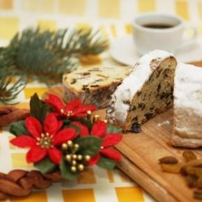 Рождественский кекс с творогом