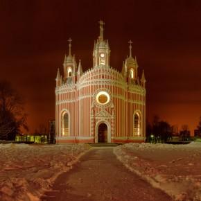 Необычная Чесменская церковь