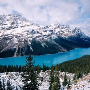 Пейто — самое знаменитое и красивое озеро Канады