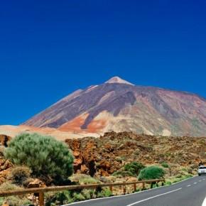 Пейзажи на территории Nacional de El Teide