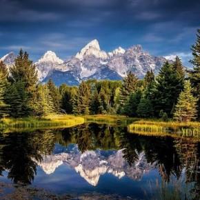 Титон – горный хребет в Вайоминге