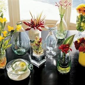 Чистим вазу с узким горлышком