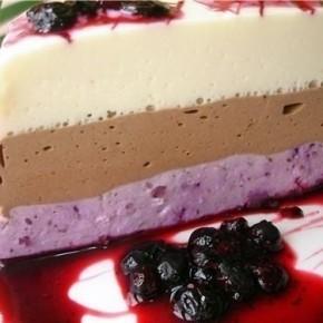 Десерт «Черничная рапсодия»