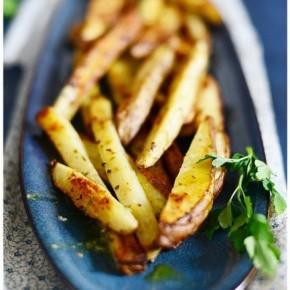 Запеченный картофель по-гречески