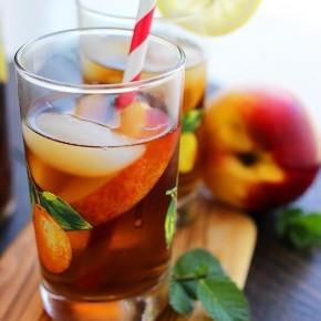Алкогольный холодный чай-лимонад