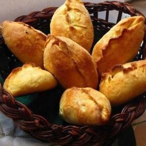 Пирожки из французского теста