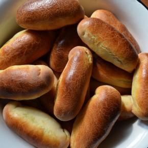 Пирожки в духовке с картофелем