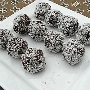 Шоколадно-кокосовые шарики