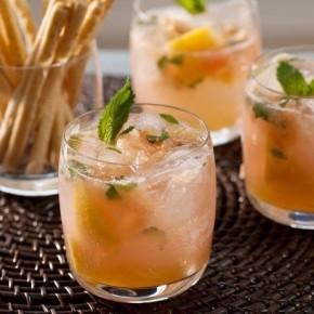 Грейпфрутово‑мятный мохито