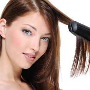 Укладка волос утюжком: советы