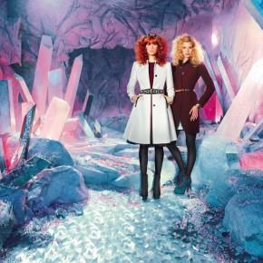 Кира Пластинина представила рекламную кампанию коллекции осенне-зимнего сезона